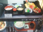 On the streets of Japan 2004- Plastic food displayed in restaurant's window.  This stuff drove me nuts. Love it.