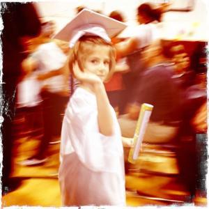 My niece graduated to elementary school
