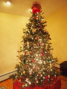 The tree right after I finished it