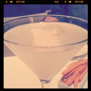 French75.. a delicious drink.