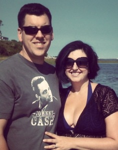 My husband and I in Ipswich on our 11yr anniversary
