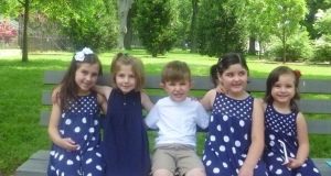 All the cousins together!