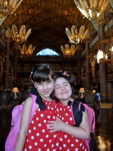 Sisterly Love at the AKL!  It was a great resort to stay!