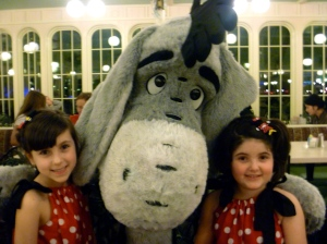 They loved meeting Eeyore!