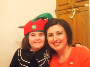 me and my youngest elf