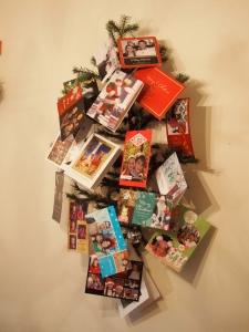 Holiday Card Tree