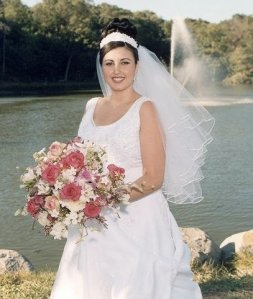 2001- Wedding day :)
