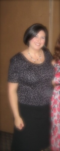 2009 at Friends Baby Shower. I look HORRENDOUS! Ooof!