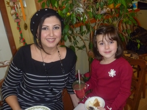 With my oldest Winter 2010