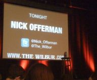 Waiting on Nick Offerman