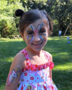 Face painted!