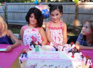 Happy Birthday my pretty girls!