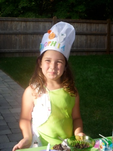 My niece, the chef