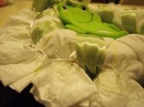Making my Sister a Diaper Wreath  :))))