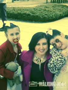 This past Easter Sunday with my zombettes