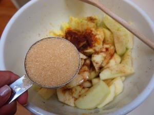 Add in a 1/3 cup Sugar in the Raw (raw sugar)