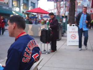 PreGame - my husband out on Yawkee Way working. SEEMIKEDRAW.COM!