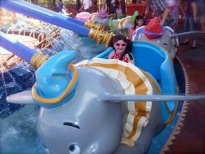 This is her favorite ride, and we rode this about.... fifteen times!