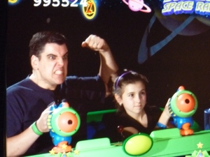 Someone entertained themselves way too much making faces at the ride cameras... ahem.