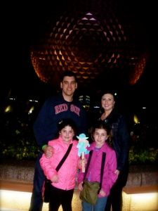 Our second night in EPCOT