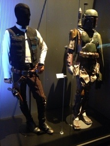 Only showing of Boba Fett's costume.