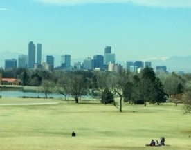 Next day we headed off to the Museum. A view of Denver from the science museum