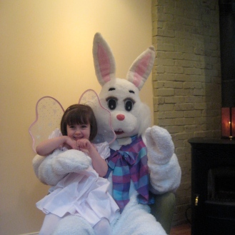 Our oldest loved the Bunny so much!