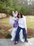 My sister in law and the bunny
