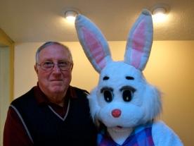 My dad and Bunny haha