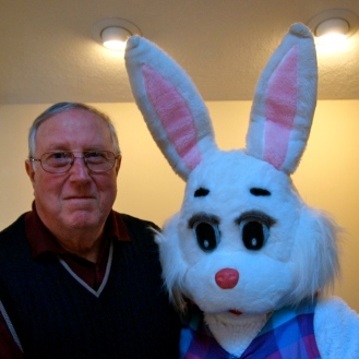 My dad and Bunny haha