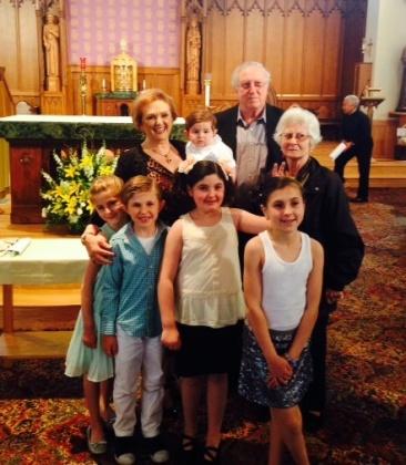 Baptism family 1