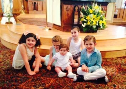 Baptism cousins together