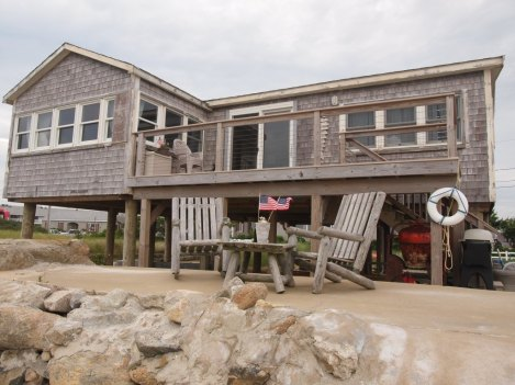 A typical Cape styled home for the Fourth