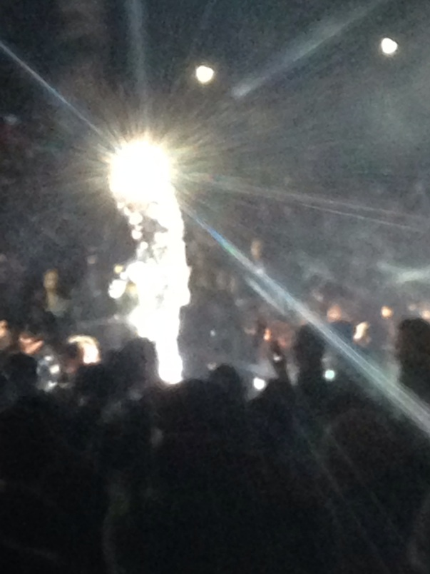 The person all in mirrors in the crowd.. awesome.