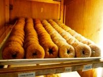 Yummm Cider donuts.. cinnamon sugar, plain and sugar.. I like plain the best!