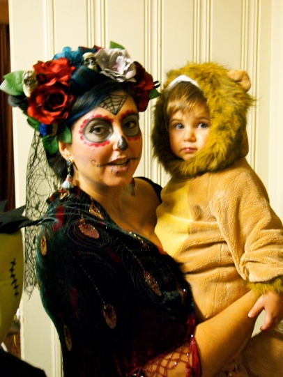 La Muerta and the lion