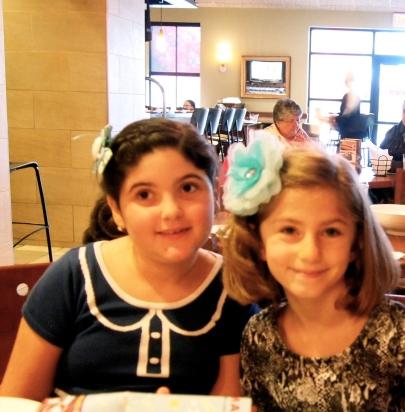 The cousins...