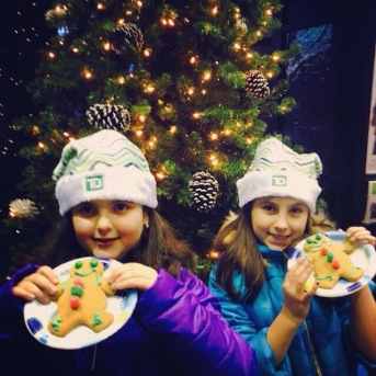My gingerbread angels