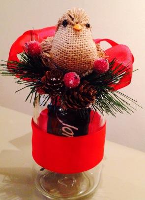 Mason Jar Gift Certificate/Card holder front