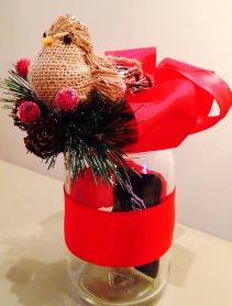 Done! Mason Jar Gift Card Holder anyone would love!