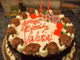 MY CAKE! It was super duper amazing!