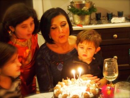 2014 Birthday candles