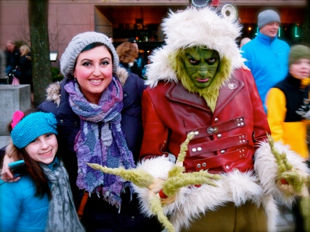 The Grinch is super cool in person!!