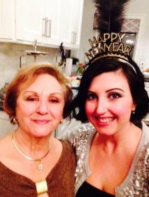 My momz and I