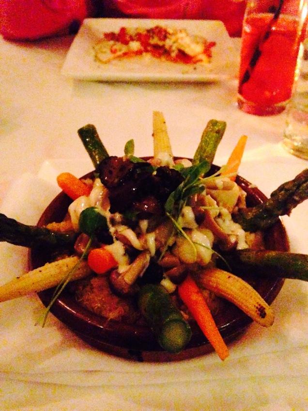 I want this again.. quinoa paella... yum!