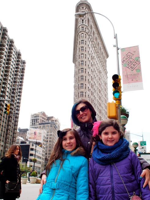 The Flat Iron building..my oldest daughter's fav building!