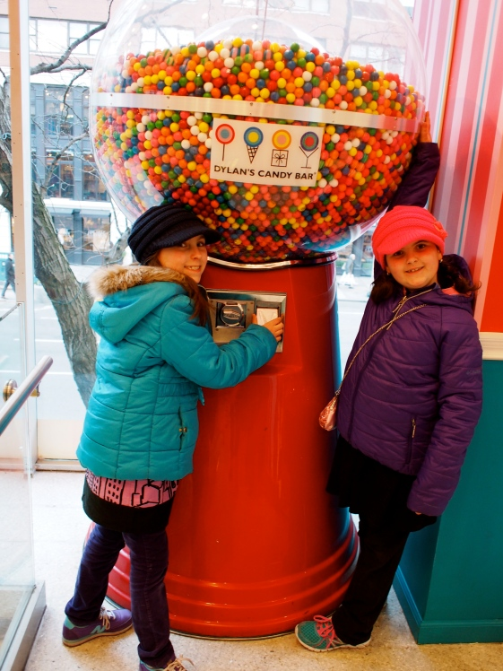 We then took the girls to Dylans Candy Bar