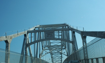 Day 1- onto the Cape! Have to take one going over the Sagamore...every time