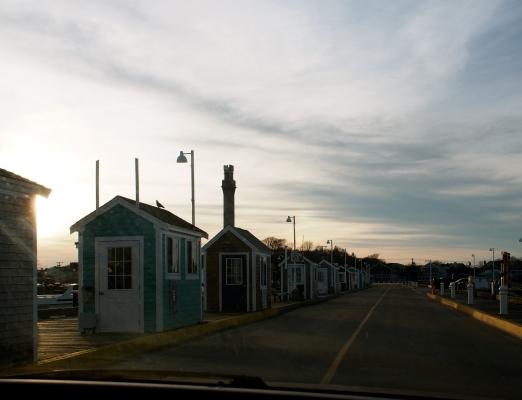 Fun stores along the pier