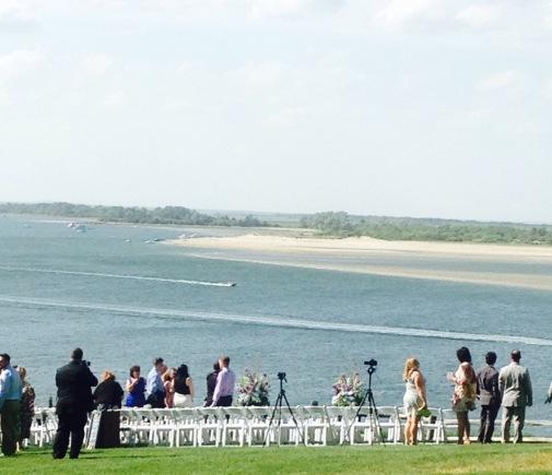 Gorgeous Day for a Wedding... Crane Estate, Steep Hill Beach